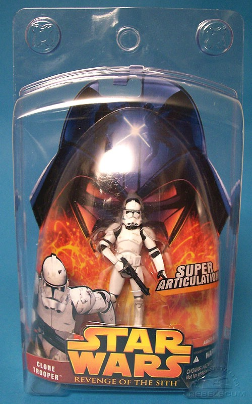 Clone Trooper 41 not included