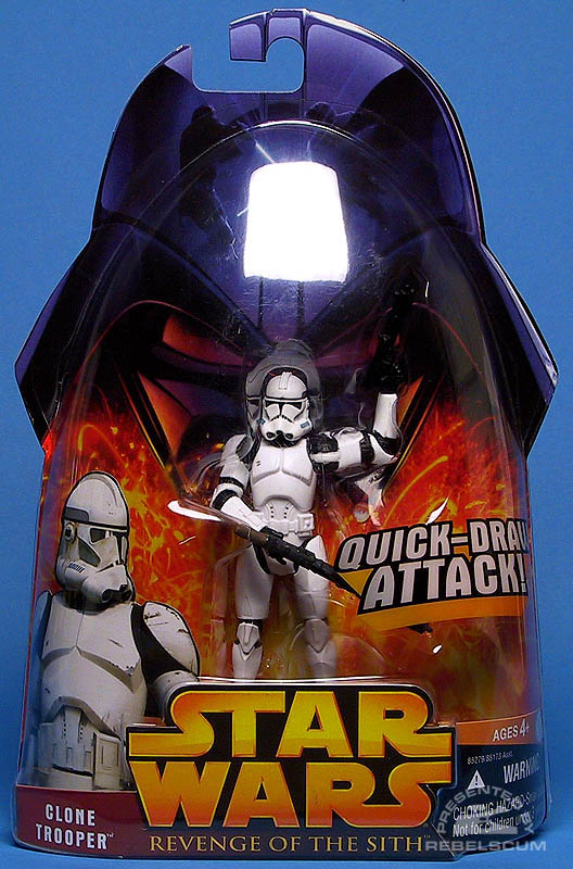 <i>Revenge of the Sith</i> Clone Trooper (Clean)