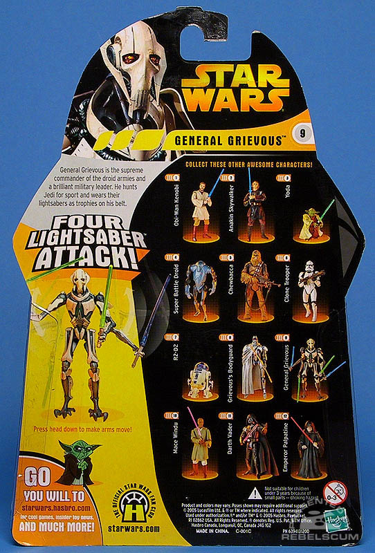 <i>Revenge of the Sith</i> General Grievous