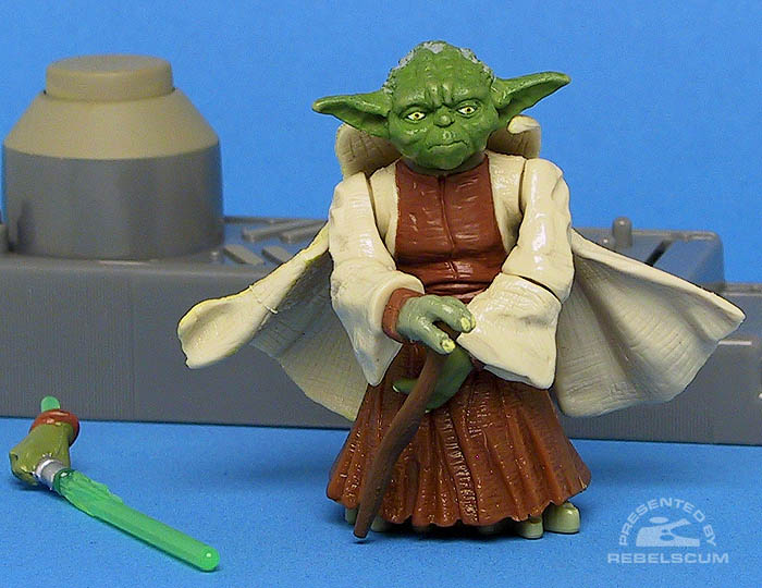 <i>Revenge of the Sith</i> Yoda (Spinning Attack!)