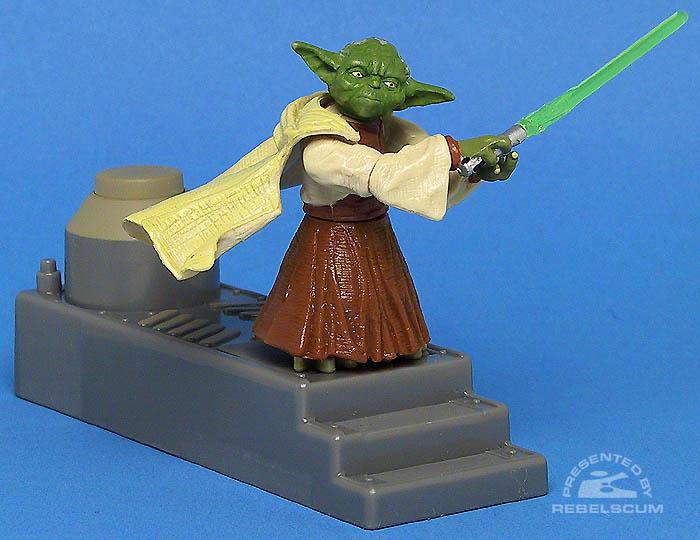 <i>Revenge of the Sith</i> Yoda (Spinning Attack!)