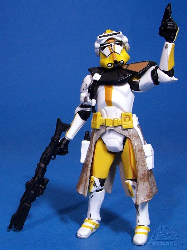 Commander Bly with brown stripes