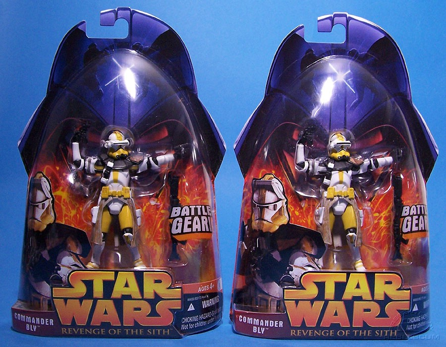 Commander Bly Variations (Yellow and White Shoulder Rings)