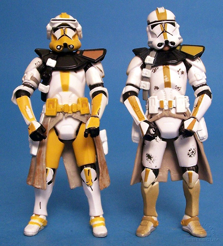 Commander Bly and STAR CORPS Trooper