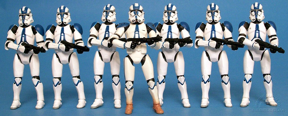 Commander Appo and The 501st Legion