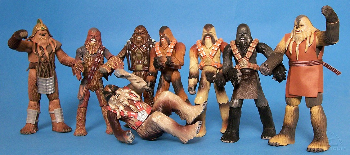 MORE WOOKIEE DANCE PARTY!!!