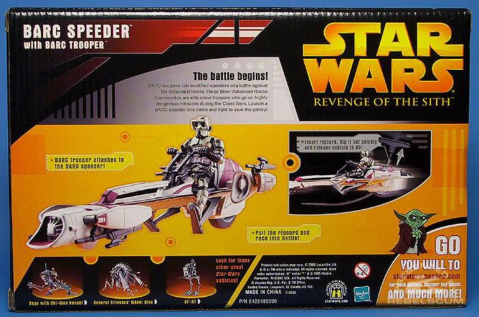<i>Revenge of the Sith</i> BARC Speeder