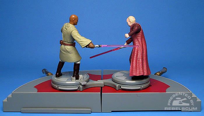 <i>Revenge of the Sith</i> Battle Arena: Darth Sidious VS Mace Windu