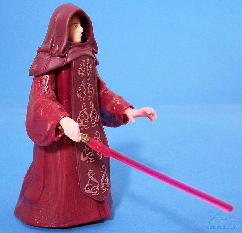 Emperor Palpatine with Lightsaber hand