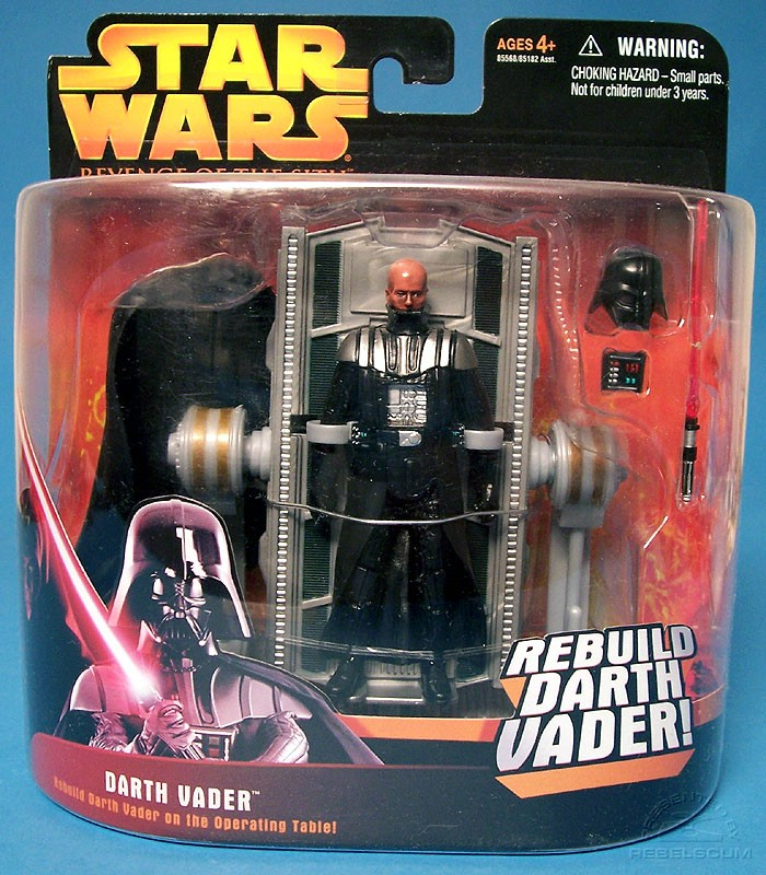 Vader's damage is shiny!