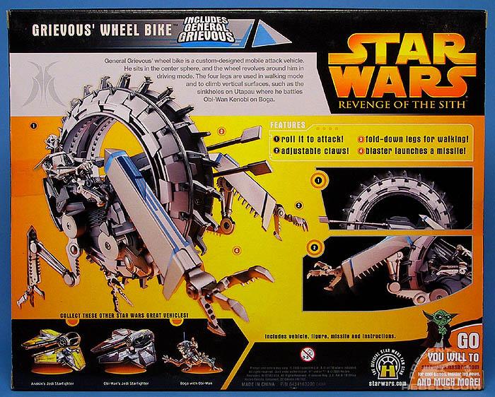 <i>Revenge of the Sith</i> Grievous' Wheel Bike