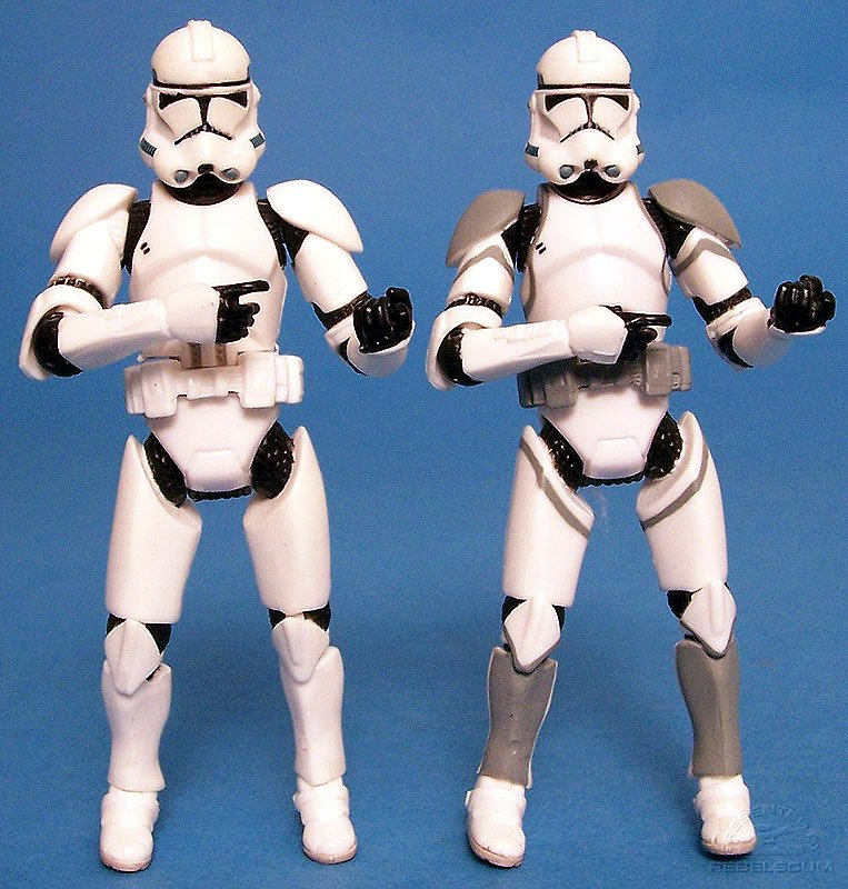 Deluxe Clone Trooper | Clone Trooper (Battle Pack)