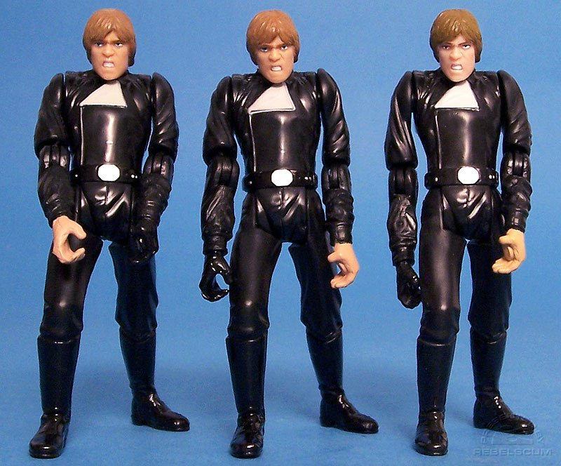 Luke Skywalker (Throne Room Duel) 03-17 - Error Variation | Luke Skywalker (Throne Room Duel) 03-17 - Corrected Variation | Luke Skywalker (Battle Pack)