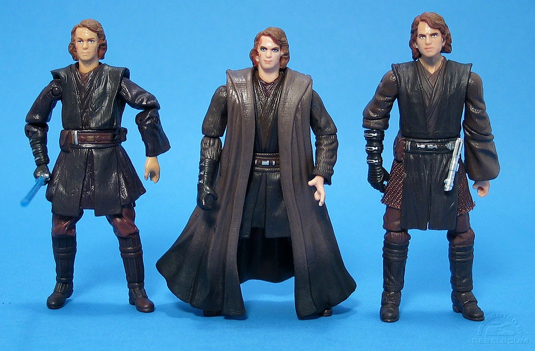 ROTS Anakin Skywalker III-02 | ROTS Anakin Skywalker III-28 | EVOLUTIONS Anakin Skywalker (Clone Wars Commander)