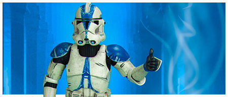 Clone Trooper Deluxe 501st Sixth-Scale Figure from Sideshow Collectibles