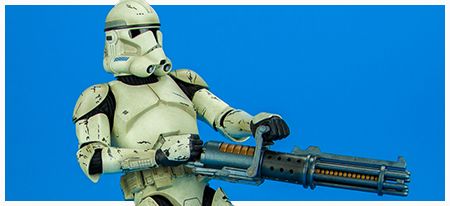 Clone Trooper Deluxe Veteran Sixth-Scale Figure from Sideshow Collectibles