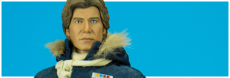 Han Solo Hoth Exclusive Blue Version 1/6th Scale Figure from Sideshow Collectibles