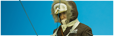 Han Solo Hoth Exclusive Brown Version 1/6th Scale Figure from Sideshow Collectibles