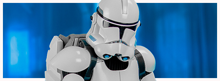 Clone Trooper Deluxe Shiny Sixth-Scale Figure from Sideshow Collectibles