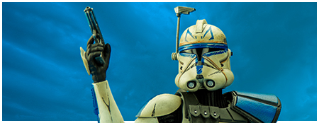 Captain Rex Phase II Sixth Scale Figure from Sideshow Collectibles