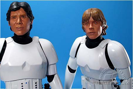 Han Solo & Luke Skywalker (Stormtrooper Disguises)