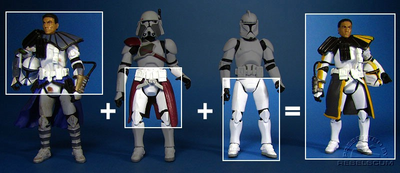 Recipe of an ARC Trooper