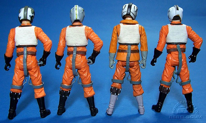Dutch Vander | Wedge Antilles | Zev Senesca | Biggs Darklighter