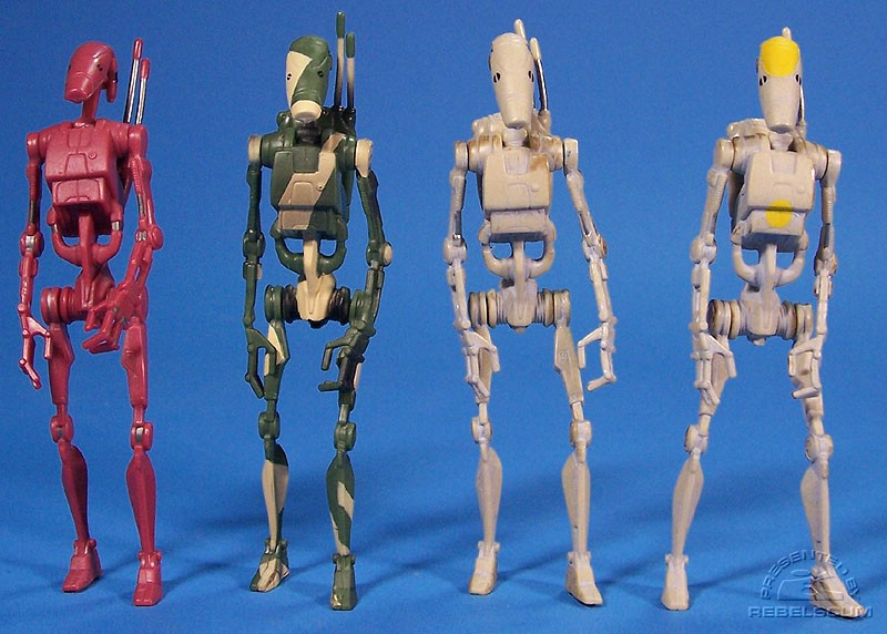 Battle Droids: SAGA Deluxe | TSC SAGA-062 | SAGA LEGENDS TPM Variants