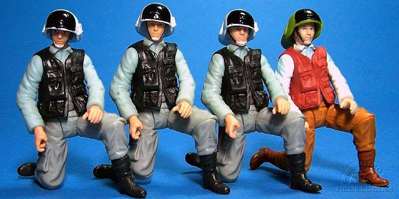 POTJ Rebel Trooper | SAGA Variant 1 | SAGA Variant 2 | TAC Comic Pack Rebel Officer