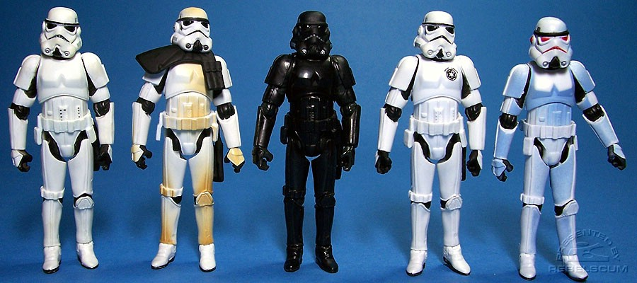 VOTC Stormtrooper | TSC Sandtrooper | Shadow Stormtrooper | 501st Stormtrooper | TAC Comic Packs