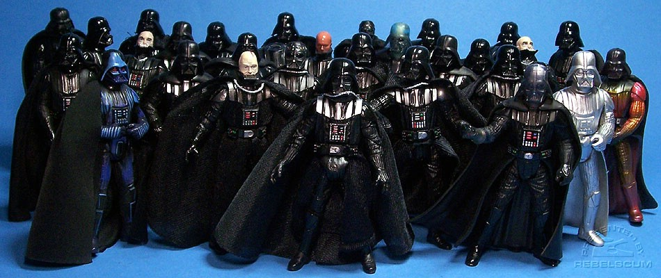 Which Darth Vader figure will fit inside the Sith Starfighter