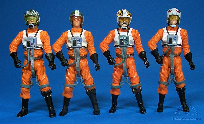 Dutch Vander | Wedge Antilles | Biggs Darklighter | Lt. Lepira