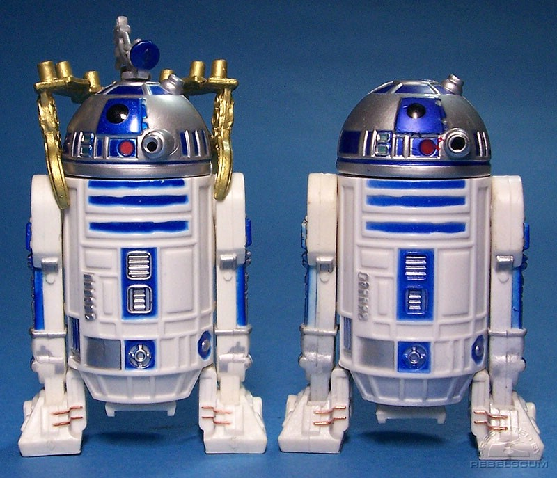 SAGA R2-D2 (Jabba'a Sail Barge) 04-05 | TAC R2-D2 (Ambush on Ilum)