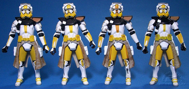 ROTS Commander Bly I | Version II | Version III | TAC Commander Bly (Betrayal on Felucia))