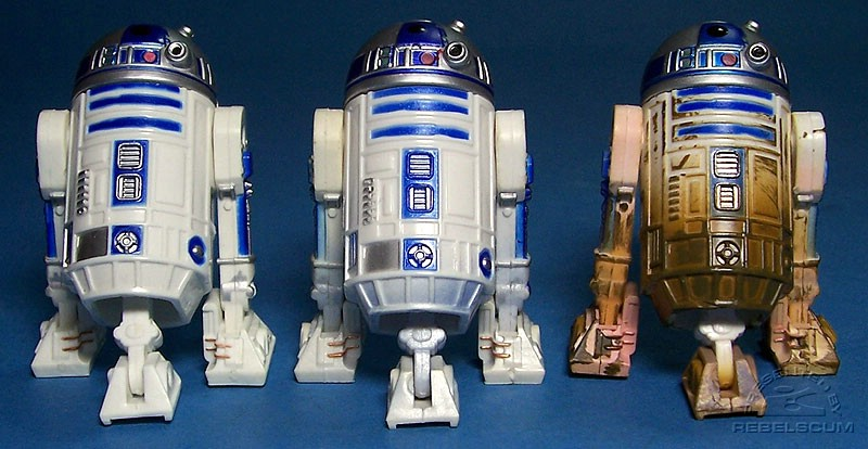 R2-D2 (Jabba's Sail Barge) | R2-D2 (Battle of Ilum) | R2-D2 (Jedi Training)