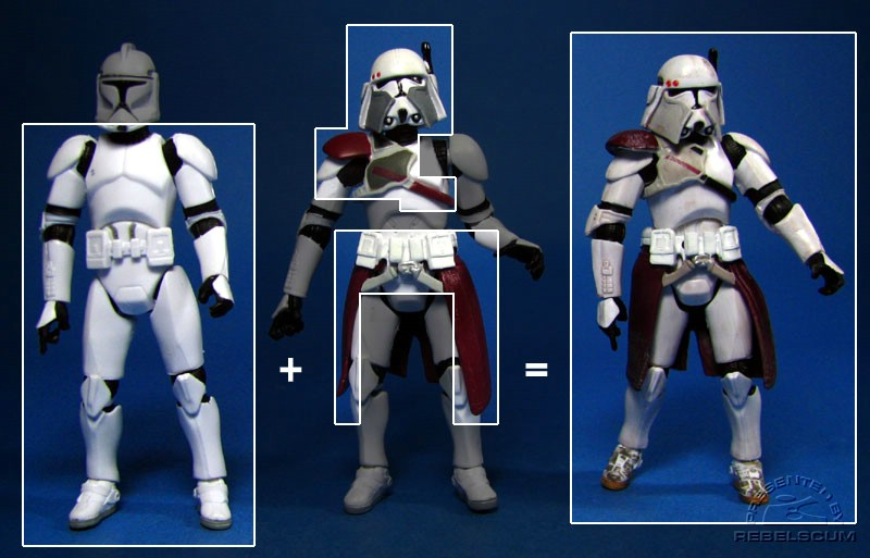 The Recipe for this version of Clone Commander Bacara