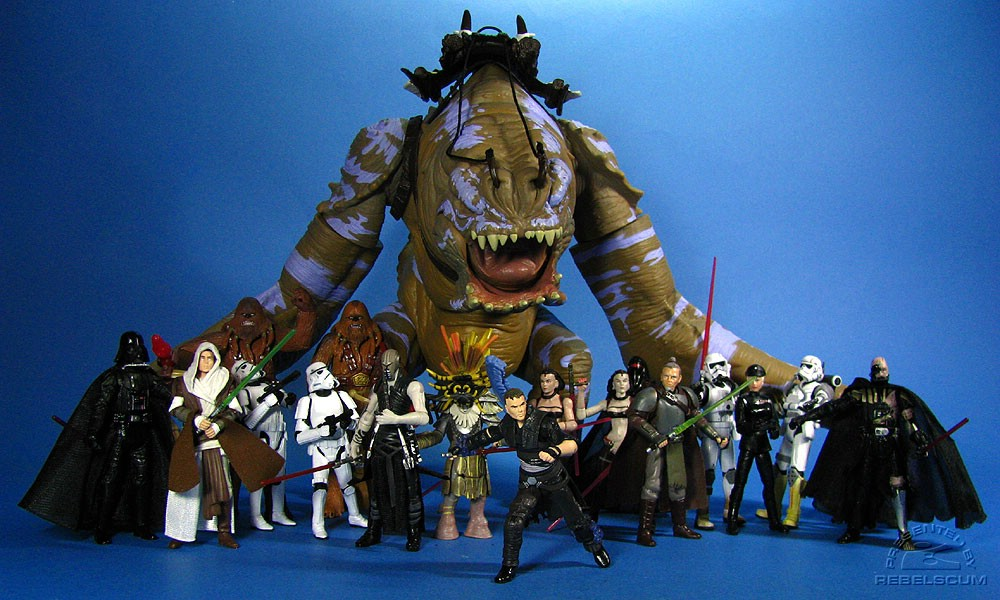Hasbro's The Force Unleashed Action Figure Collection