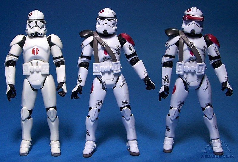 Target Clone Trooper | Commander Neyo | Saleucami Clone Trooper