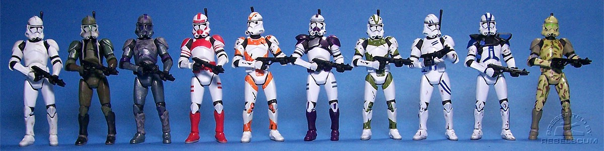 Clone Troopers: III-41 | Gree | Covert Ops | Shocktrooper | Utapau | BMF Battalion | 442nd | 5th Fleet | Appo | Kashyyyk