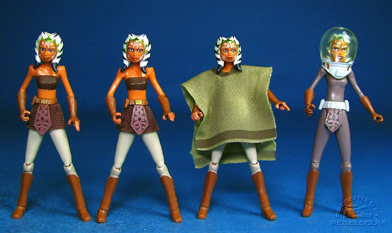 Ahsoka Tano (No.9) | Eyelashes Variant | Ambush on the Vulture's Claw | Space Suit