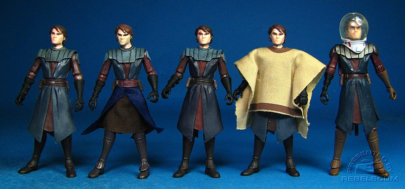 Anakin Skywalker (No.1) | B'omarr Monastery Assault | Battle of Christophsis | Ambush on the Vulture's Claw | Space Gear