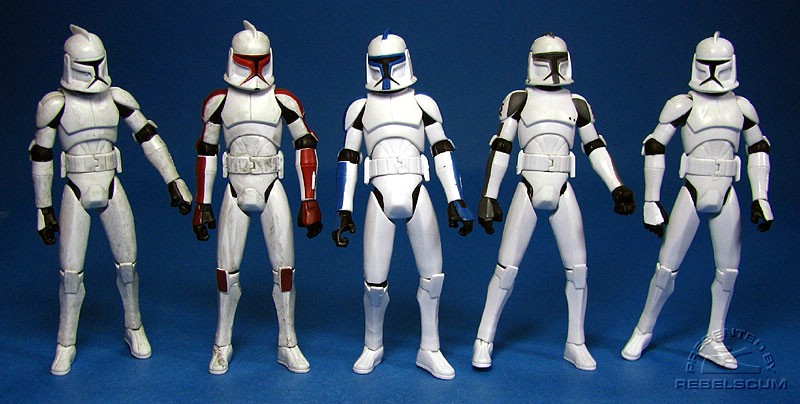 CLONE TROOPERS<br> Dirty | Senate Security | 501st Legion | Speeder Bike | Clean
