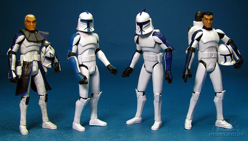 Members of the 501st Legion