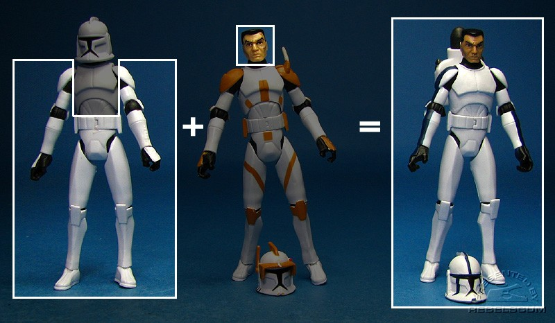 The Recipe for Clone Trooper Denal