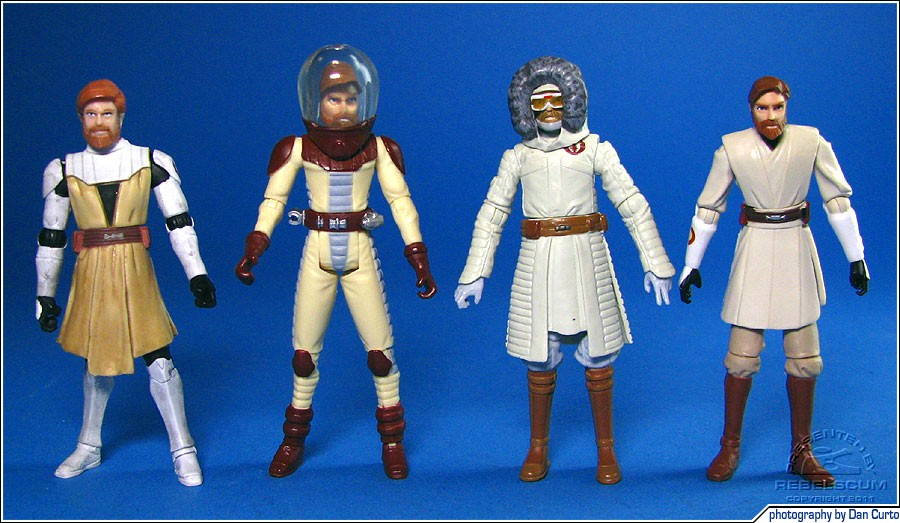 The Clone Wars Obi-Wan Kenobis: Armor | SPace Suit | Cold Weather | Jedi Master