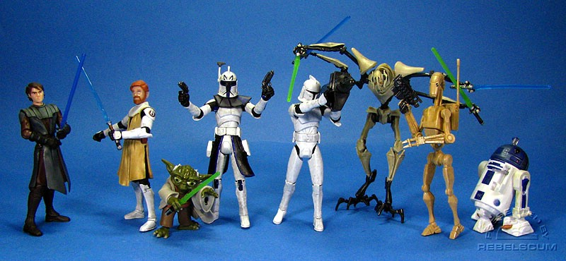 THE CLONE WARS Wave 1