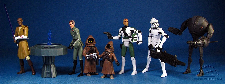 THE CLONE WARS 2009 Wave 2