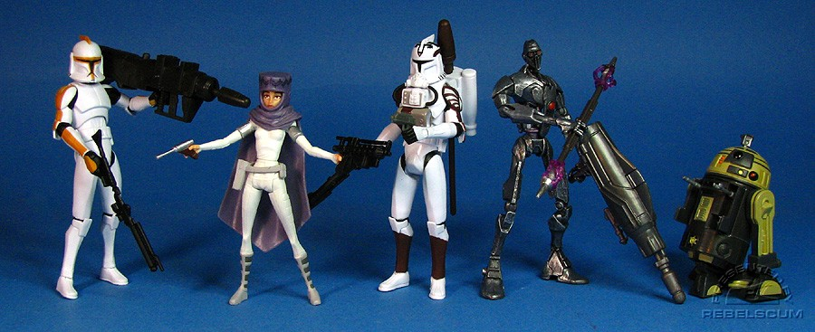 THE CLONE WARS Wave 4