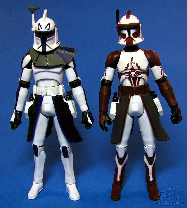 Captain Rex | Commander Fox