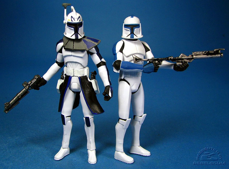 Rex leading a 501st Legion Clone Trooper